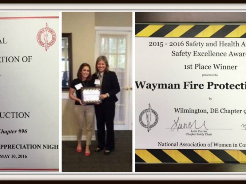 NAWIC Safety Excellence Award